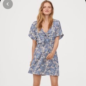 H&M Pattern Mini Dress